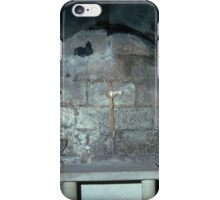 Wilfred's Crypt Hexham Abbey Northumbria England 19840530 0046 iPhone Case/Skin