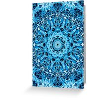 counting on blue Greeting Card