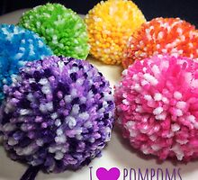 I Love Pompoms by QueenBabs
