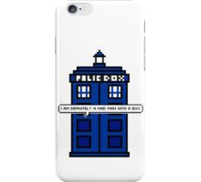 DOCTOR WHO - MAD MAN WITH A BOX iPhone Case/Skin