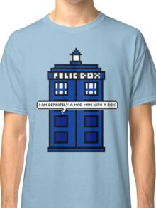 DOCTOR WHO - MAD MAN WITH A BOX Classic T-Shirt