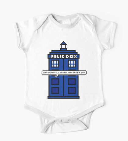 DOCTOR WHO - MAD MAN WITH A BOX One Piece - Short Sleeve