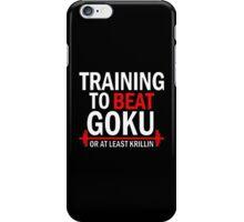 Beat Goku or Krillin DBZ Dragon Ball Z iPhone Case/Skin