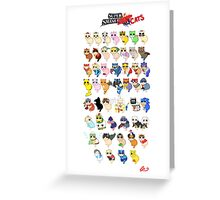 Super Smash Cats! Greeting Card