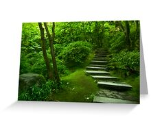 The Steps to Nirvana Greeting Card
