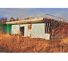Echo Drive In - Concession Stand Photographic Print