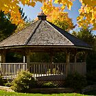 ~ Gold Crowned Gazebo ~ by Tim Denny