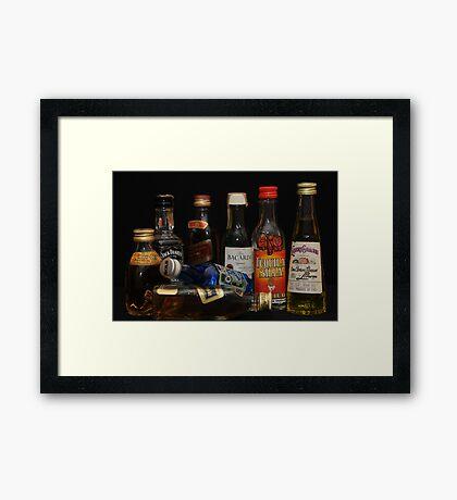 alcohol Framed Print