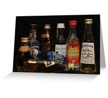 alcohol Greeting Card