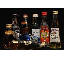 alcohol Photographic Print