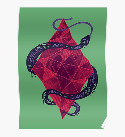 Mystic Crystal Poster