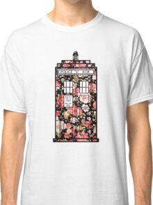 Floral TARDIS 2 Classic T-Shirt
