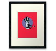 8Bit Power Glove Framed Print