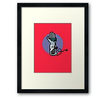8Bit Power Glove Framed Print
