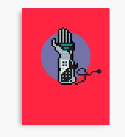 8Bit Power Glove Canvas Print