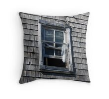 Wintered Wood Throw Pillow