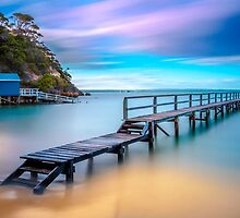 Shelly Beach Jetty by Trevor Middleton
