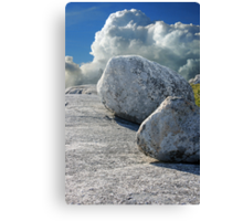 Stones of Summer Canvas Print