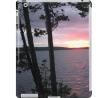 Lake Sunset,-Available As Art Prints-Mugs,Cases,Duvets,T Shirts,Stickers,etc iPad Case/Skin