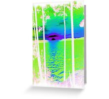 Green-Available As Art Prints-Mugs,Cases,Duvets,T Shirts,Stickers,etc Greeting Card