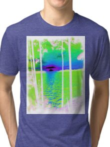 Green-Available As Art Prints-Mugs,Cases,Duvets,T Shirts,Stickers,etc Tri-blend T-Shirt