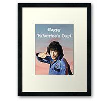 Hot Rod Valentine's Day Framed Print