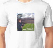 Sports Geek Podcast Cover Art Unisex T-Shirt