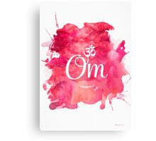 Om art print Canvas Print