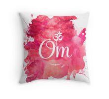 Om art print Throw Pillow