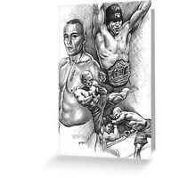 Georges St.Pierre Greeting Card