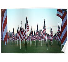 Tempe911Flags Poster