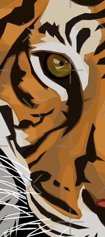 Eye Of The Tiger by Rhonda Blais