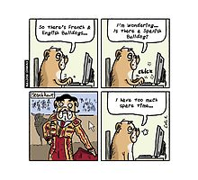Bulldog Diaries Strip #9 - Spanish Bulldogs by bulldogdiaries
