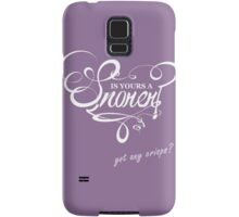 Is Yours a Snorer? Samsung Galaxy Case/Skin
