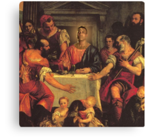 Gucci da Savior Canvas Print
