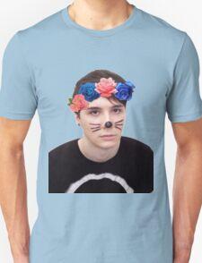 danisnotonfire - flower cown T-Shirt
