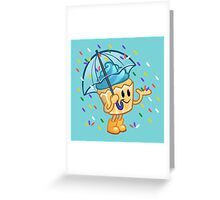 It's Sprinkling Outside Greeting Card