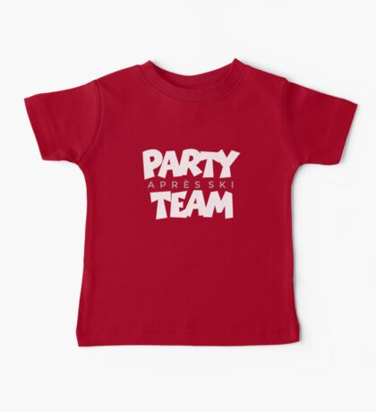 Après-Ski Party Team Winter Sports Design Baby Tee