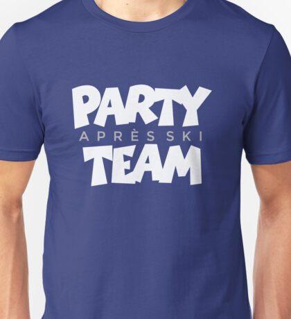 Après-Ski Party Team Winter Sports Design Unisex T-Shirt