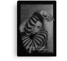 The Black Stripes Canvas Print