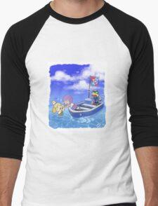 Isabelle Overboard! Men's Baseball ¾ T-Shirt