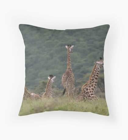 Young ones... Throw Pillow