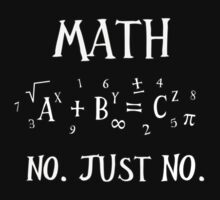 Math Is Evil! by Chris Singley