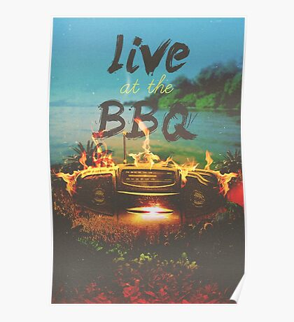 Live at the Bar-B-Q Poster