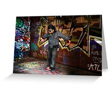 Melbourne Graffiti Artists Greeting Card
