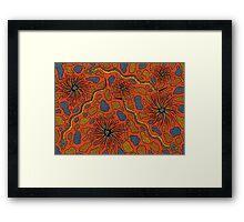 Joorr - (snake) lalin season (summer) Framed Print
