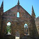 Port Arthur Church by Sharon Robertson