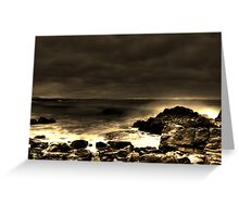 Forster beach Greeting Card