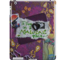 a magical place iPad Case/Skin