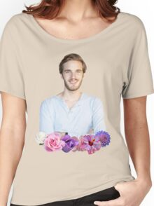 PEWDIEPIE - FLOWER BORDER Women's Relaxed Fit T-Shirt
